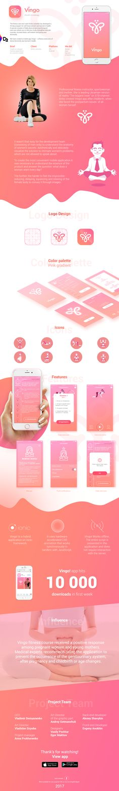 "다음 @Behance 프로젝트 확인: ""Vingo! Mobile app - fitness instructor for women only"" https://www.behance.net/gallery/55374655/Vingo-Mobile-app-fitness-instructor-for-women-only"