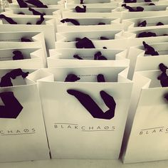 Busy day at the Blak HQ! Goodie bags all ready to go for the #littleblakdress launch this Saturday! See you in store @blakchaos #mountmaunganui #ponsonby and @thedeptstore | #celebrationcollection #findyourperfectdress |