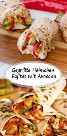 Grilled Chicken Fajitas with Avocado Grilled Chicken Fajitas . - Grilled Chicken Fajitas with Avocado Grilled chicken fajitas with crushed avocado - # Tart Recipes, Healthy Salad Recipes, Sandwich Recipes, Avocado Dessert, Easy Chicken Pot Pie, Baked Chicken Recipes, Grilled Chicken Fajitas, Honey Chilli Potato, Grilled Desserts
