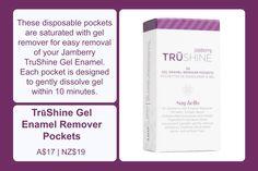 TruShine Gel Enamel Remover Pockets