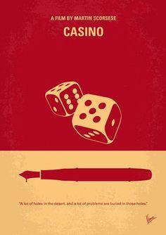 Casino (1995) ~ Minimal Movie Poster by Chungkong #amusementphile