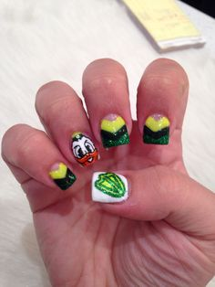 Oregon duck nails!