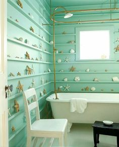 Benjamin Moore Mermaid Green |