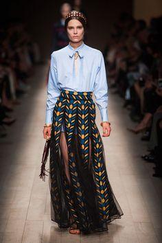 Full Skirt Ahead | @Valentino  #ss14