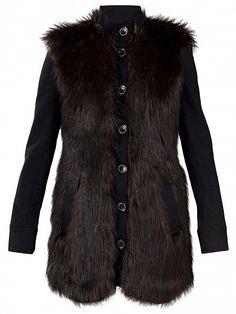 RACHEL ZOE Long Fur Jacket by Rachel Zoe