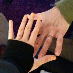 Image result for wedding ring tattoo men #weddingringtattoos