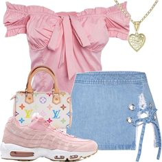 cozy pastel fit😝 i want to sleep in this jacket Kpop Fashion Outfits, Swag Outfits, Retro Outfits, Cute Casual Outfits, Chic Outfits, Black Girl Fashion, Cute Fashion, Womens Fashion, Looks Party