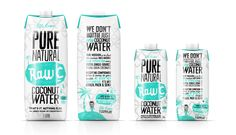 Raw C Coconut water by Saltree