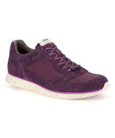Look what I found on #zulily! Aubergine Junelle Pace Suede Sneaker #zulilyfinds
