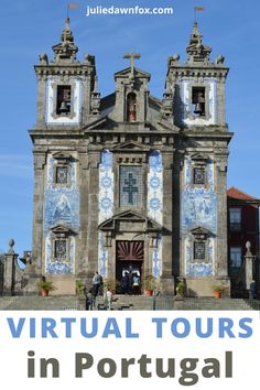 You can now embark on a Virtual Tour of famous and hidden gems in Portugal from the comfort of your own sofa. The UNESCO Heritage city of Porto, Jewish history or maybe one of many intriging online experiences are just a click away! Expert guides will give you an unforgettable experience. Explore what's on offer, you won't be disappointed! #Portugaltravel #Portotravel #citybreaks #onlinetours #virtualtour Travel Tours, Europe Travel Tips, Travel Destinations, Travel Guides, European Destination, European Travel, Best River Cruises, Portugal Travel Guide, Jewish History
