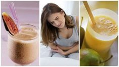 Given that chemical laxatives can be harmful in the long term, you should try to make use of natural foods and juices that provide sufficient fiber to fight constipation. These five laxative drinks can help! Constipation Smoothie, Relieve Constipation, Fig Juice, Sante Plus, Healthy Nights, Flora Intestinal, Food For Digestion, Good Foods For Diabetics, Menopause