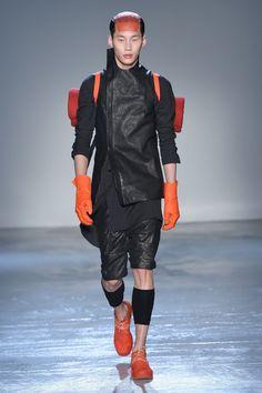 XXl Century. The Future is Now! theasianmalemodel:Wang Chen MingforBoris Bidjan SaberiFW15 | Paris Fashion Week