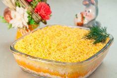 32 ideas for healthy recipes tuna kitchens Unique Recipes, Easy Healthy Recipes, Healthy Cooking, Russian Dishes, Russian Recipes, Slow Cooker Recipes, Beef Recipes, Baking Recipes, Mimosa Salad