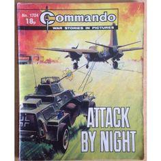 Commando Comic Picture Library #1724 War Action Adventure