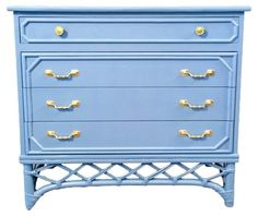 Bacheloru0027s Chest By Ficks Reed · Painted PianosAntique FurniturePainted ...
