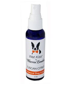 Take a look at this Tuscan Citrus All-Natural Pet Cologne today!