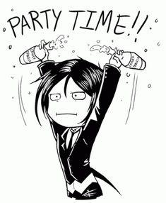 sebastian michaelis, from kuroshitsuji/black butler #anime/ Heheheheheheheheheeeeeeeeeeee!!!!!! <3