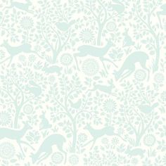 """Brewster Home Fashions Hide and Seek Anahi Forest Fauna 33' x 20.5"""" Wildlife Embossed Wallpaper Color:"""