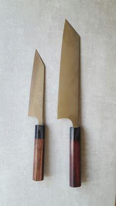 Shibata R2 150mm petty and 210 gyuto