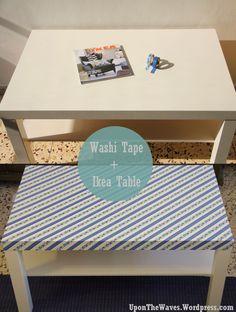 Embellishing Ikea DIY With Washi Tape