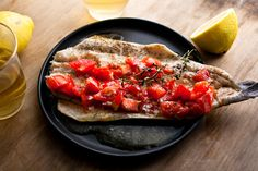Rainbow Trout Baked in Foil With Tomatoes, Garlic and Thyme Recipe - NYT Cooking