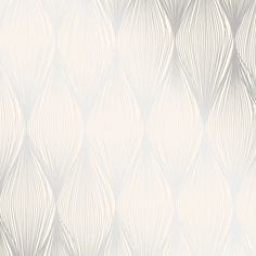 "Brewster Home Fashions Essence Gleam 33' x 20.5"" Linear Ogee Wallpaper Roll & Reviews | Wayfair"