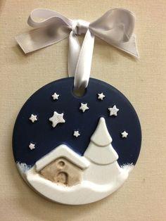 DecoraZioni natalizie ceramica - Feste - Natale - di Merceria dell'... | su MissHobby