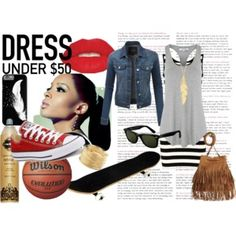 Designer Clothes, Shoes & Bags for Women Ray Bans, Fashion Looks, Glamour, Polyvore, Converse, Stuff To Buy, Shopping, Collection, Dresses