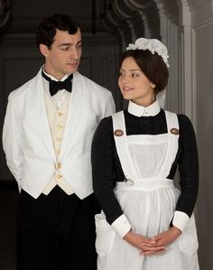 Jenna-Louise Coleman, announced as the next companion on Doctor Who, in her role on the upcoming  ITV mini-series Titanic.