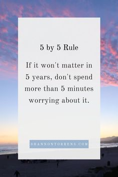 Inspirational Quote - The Five By Five Rule - Great Inspiring Quotes and Words of Wisdom #inspiringquotes #wisdom #greatquotes #wisequotes #bravequotes