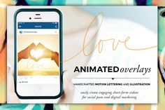 Animated Overlay - Love (Scripted) by Baron Art Co. on @creativework247