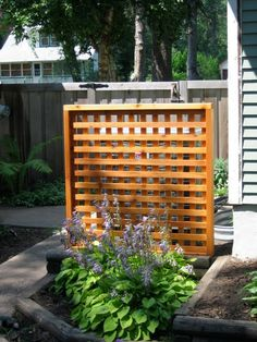 how to build a screen to cover air conditioner