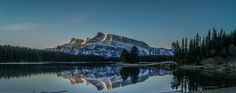 Mount Rundle & Two Jack Lake by Adam P on 500px  Mount Rundle to the west as seen from Two Jack Lake