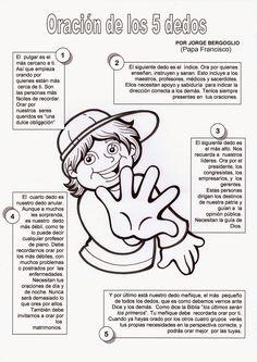 El Rincón de las Melli: Oración de los cinco dedos