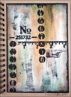 Meresanth Krafts: DecoArt Art journaling