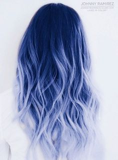 Andreas Morris — 85 silver hair color ideas and tips for dyeing . Andreas Morris — 85 silver hair color ideas and tips for dyeing . Cute Hair Colors, Pretty Hair Color, Hair Dye Colors, Ombre Hair Color, Blue Ombre, Silver Ombre, Silver Blue Hair, Pastel Hair Colors, Bold Colors