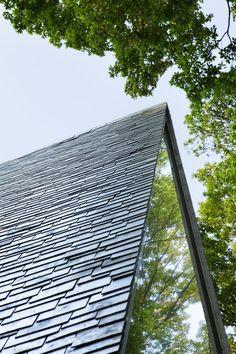 HIROSHI NAKAMURA & NAP Sayama Forest Chapel. Sayama, Japan