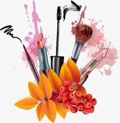 Der Vektor der Make-up-Produkte Poster, Produktplakate . Makeup Drawing, Makeup Art, Beauty Makeup, Makeup Wallpapers, Cute Wallpapers, Makeup Illustration, Party Make-up, Makeup Supplies, Beauty Logo