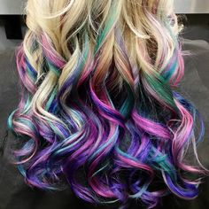 pravana hair color cocktail teal pink purple