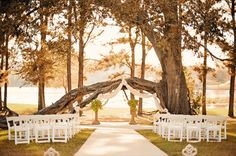 Beautiful, all-Inclusive outdoor wedding venue south of Tyler in East Texas. Choose Castle on the Lake Wedding Venue for a perfect and beautiful wedding on Lake Jacksonville. The best wedding venue in Texas. Lake Wedding Venues, Affordable Wedding Venues, Wedding Places, Wedding Locations, Wedding Reception, Wedding Stuff, Wedding Flowers, Wedding Dresses, Perfect Wedding