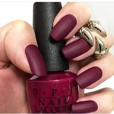 Brick Red nail polish