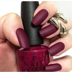 Brick Red nail polish