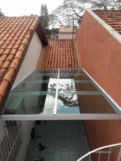 Roof Skylight, Rooftop Terrace Design, Cozy Home Office, Small Balcony Decor, Casa Patio, Backyard Patio Designs, Canopy Outdoor, Courtyard House, Dream House Plans