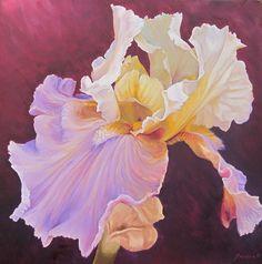"Saatchi Art Artist Yordan Enchev; Painting, ""Amazing Grace II"" #art"