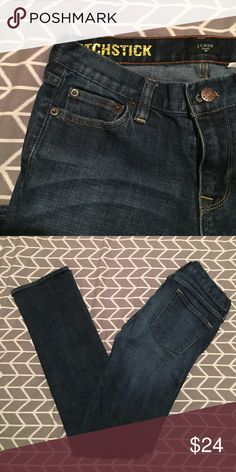 • J.CREW • jeans Size 26r. J.Crew Matchstick jeans. Worn a few times. Still in excellent condition! J. Crew Jeans Straight Leg