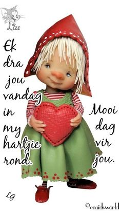 Afrikaans Good Morning Good Night, Good Morning Wishes, Morning Messages, Good Morning Quotes, Happy Birthday Flower, Happy Birthday Wishes, Lekker Dag, Evening Greetings, Afrikaanse Quotes