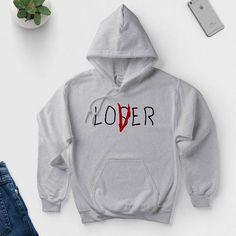 Losers Club Hoodie - Lover / Loser - IT Movie 2017 #clubdresses