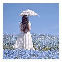 Blue Aesthetic Pastel, Aesthetic Vintage, Princess Aesthetic, Aesthetic Girl, Flowery Wallpaper, Fantasy Dress, Cute Girl Face, Korean Aesthetic, Photo Wall Collage