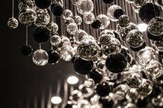 Fashion showroom in India - Sans Souci Crystal Light Fixture, Fashion Showroom, Contemporary Light Fixtures, Simple Shapes, Metallic Colors, Wall Sculptures, Hand Blown Glass, Gd, Chandelier