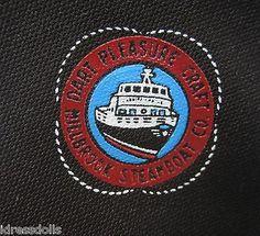 Dart Pleasure Craft Millbrook Steamboat Co Logo Vintage Necktie 1980 1985   eBay